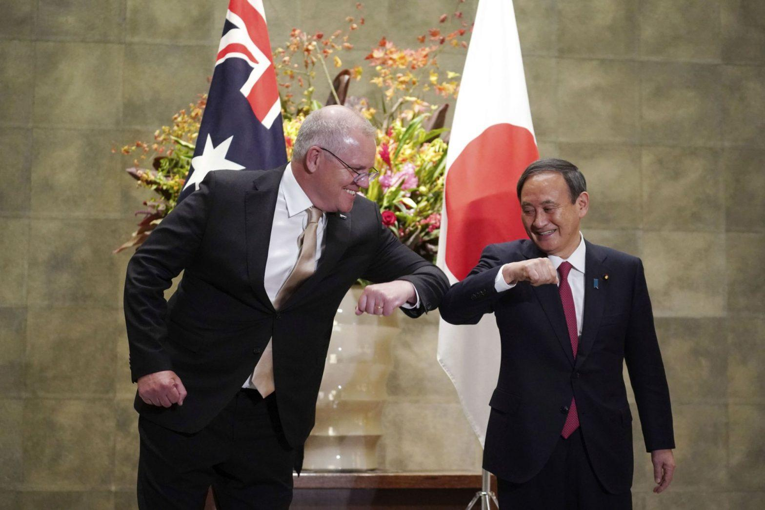 Japan & Australia signs defence deal to counter China_40.1