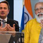 1st India-Luxembourg Virtual Summit