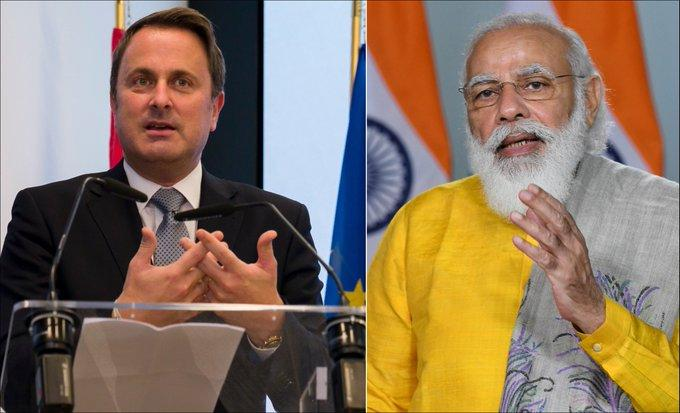 1st India-Luxembourg Virtual Summit_40.1
