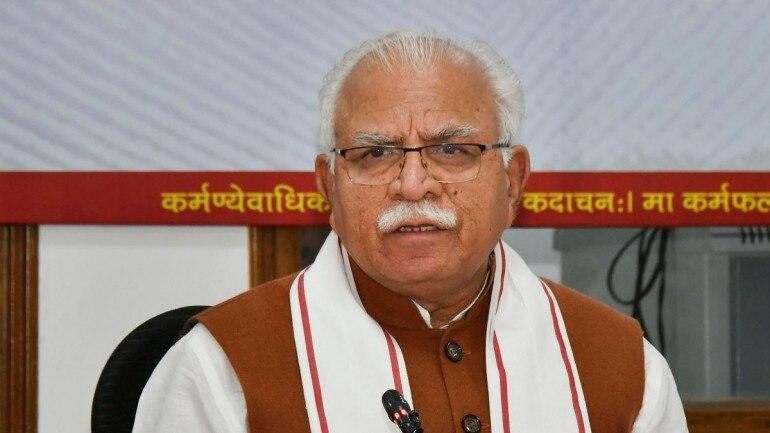 Haryana CM Launches 'Project Air Care' in Gurgaon_40.1