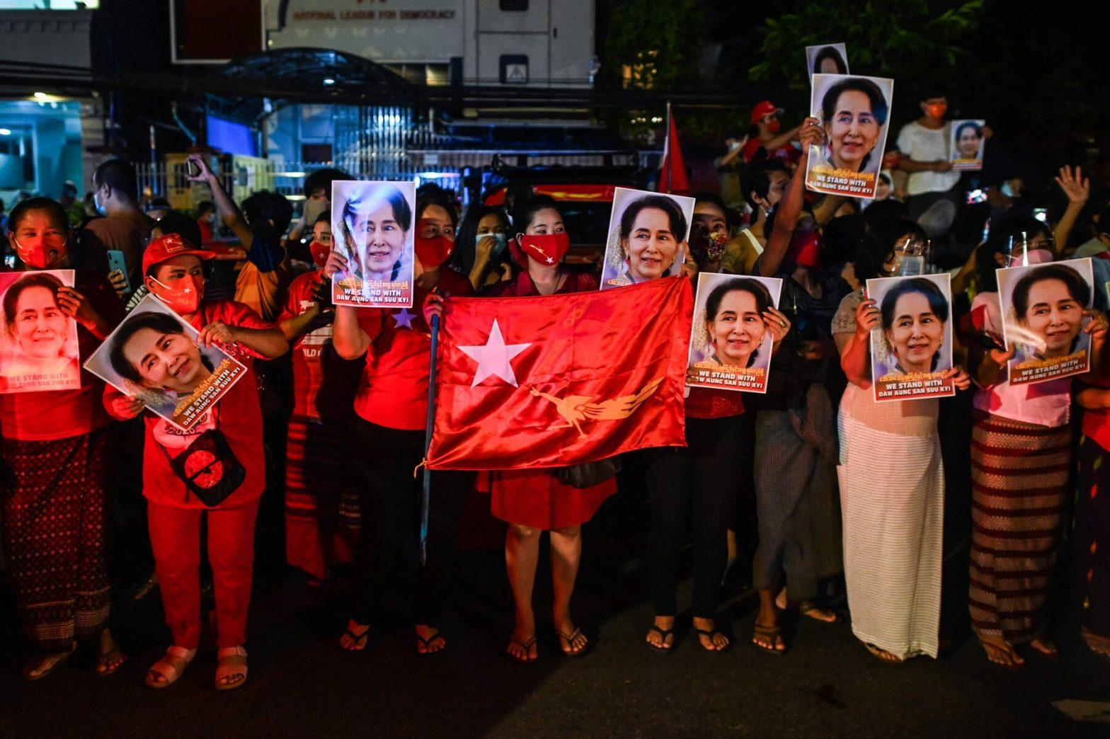 Aung San Sui Kyi Party claims to win Myanmar Elections_40.1