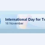 International Day for Tolerance: 16 November