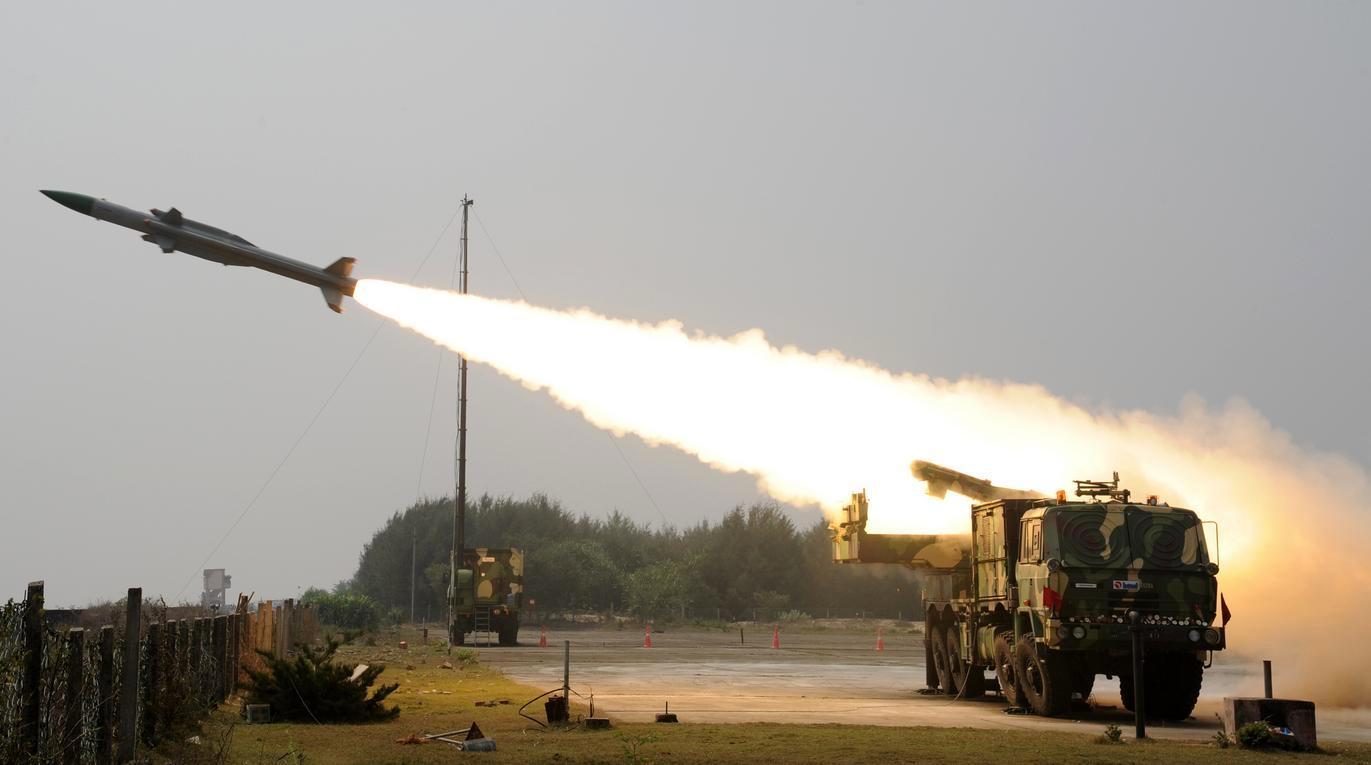 India Successfully test fires QRSAM system off Odisha Coast_40.1
