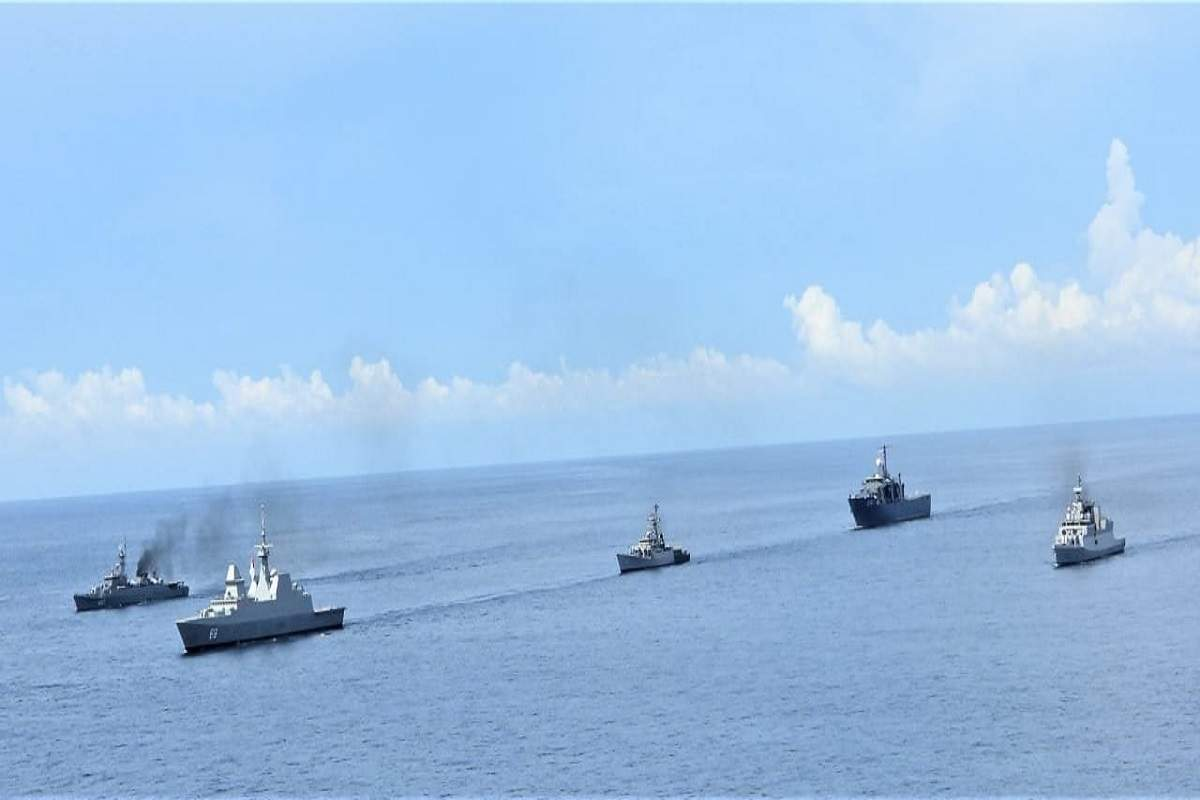 2nd Trilateral Maritime Exercise SITMEX-20 held in Andaman Sea_40.1