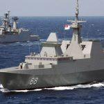 India-Singapore Maritime Exercise SIMBEX-20