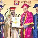 ISRO Chairman K Sivan receives Doctor of Science Honorary Doctorate