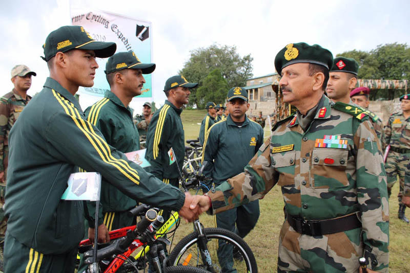 Indian Army launches cycling expedition in Gujarat & Rajasthan_40.1