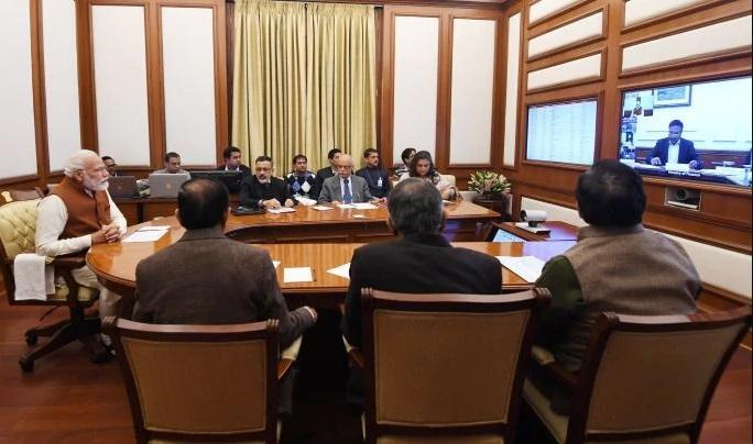 PM Modi Chairs 33rd PRAGATI Meet_40.1