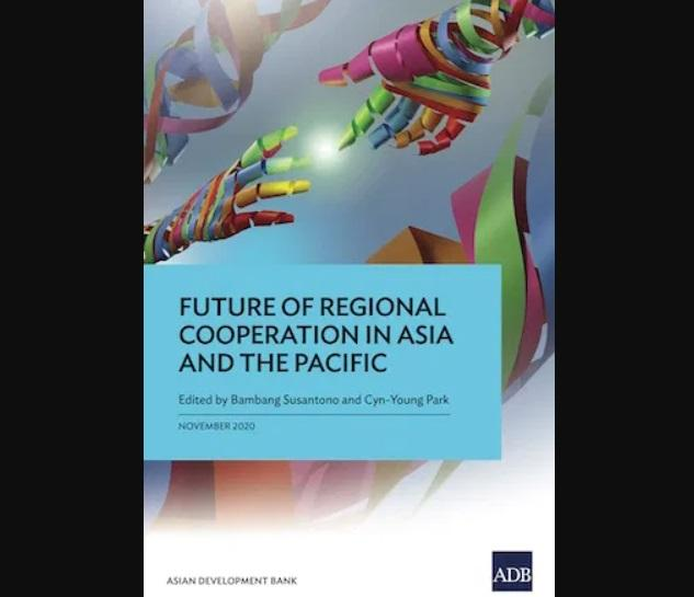 A book titled 'Future of Regional Cooperation in Asia and the Pacific' by ADB_40.1