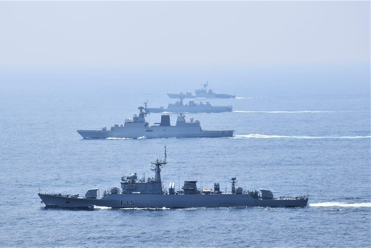 PASSEX conducted by Indian Navy and Russian Navy_40.1