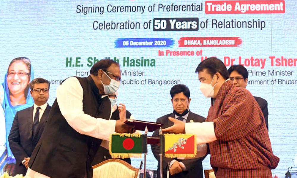 Bangladesh signs maiden Preferential Trade Agreement (PTA)_40.1
