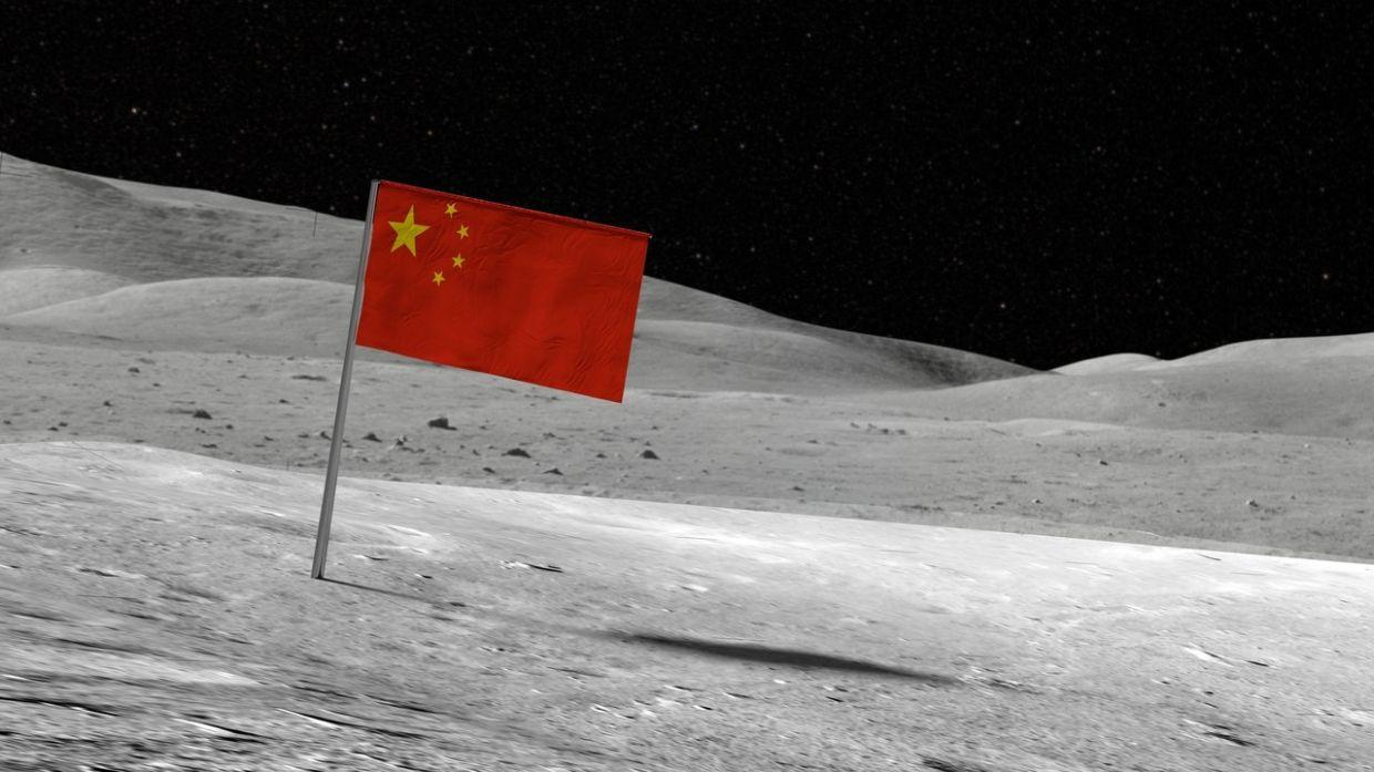 China becomes second nation to plant flag on the Moon_40.1