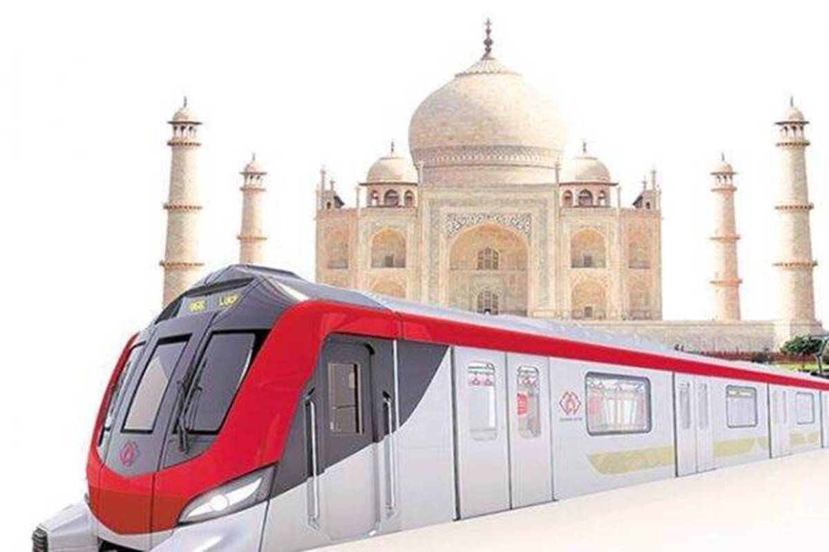 PM Modi virtually inaugurates Construction work of Agra Metro project_40.1