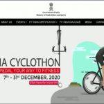 Kiren Rijiju launches 2nd edition of Fit India Cyclothon
