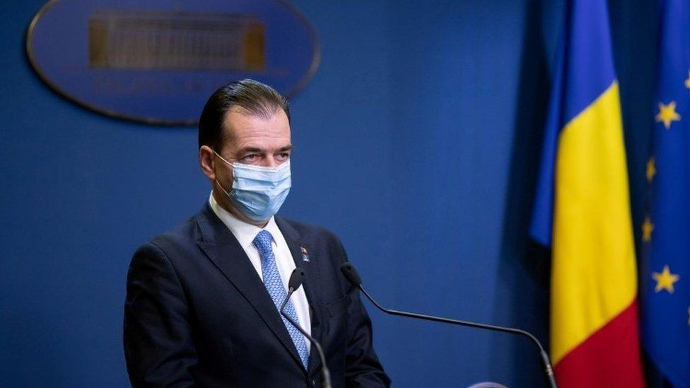 Romanian PM Ludovic Orban resigns_40.1