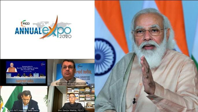 PM Modi delivers inaugural address at FICCI's 93rd Annual General Meeting_40.1