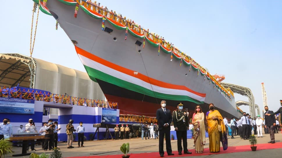 GRSE Kolkata launches 'Himgiri', its 1st Ship of Project 17A_40.1