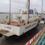 Indigenously-built Coast Guard interceptor boat C-454 commissioned
