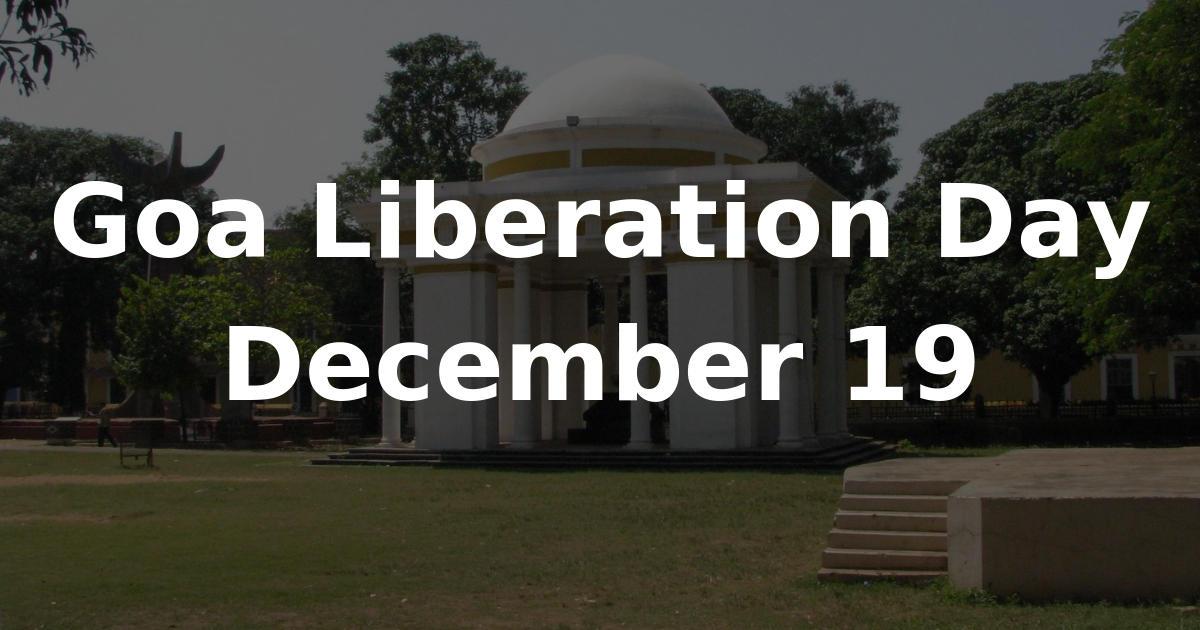 Goa Liberation Day: 19 December_40.1