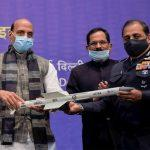 Rajnath Singh hands over high-tech systems to chiefs of 3 armed forces