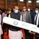 "Rajnath Singh inaugurates advanced ""HWT"" test facility in Hyderabad"