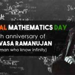National Mathematics Day observed on 22 December