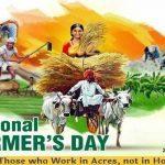 India Observes National Farmer's Day on December 23