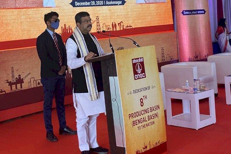 Dharmendra Pradhan dedicates Bengal's 1st oil and gas reserve 'Bengal Basin'_40.1