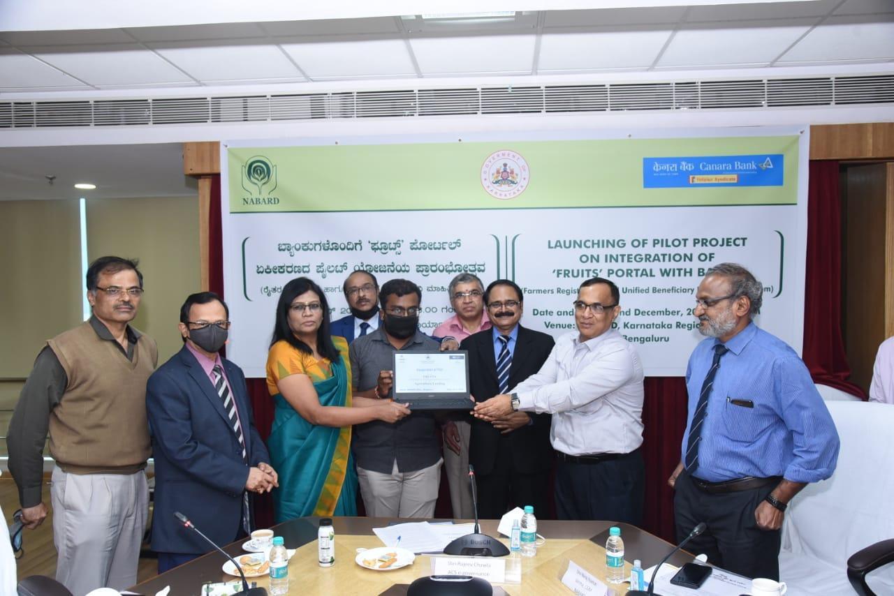 "Karnataka unveils ""FRUITS"" portal for farmers_40.1"