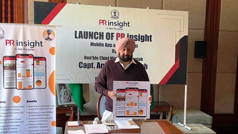 Punjab Govt launches mobile app and web portal 'PR Insight'_40.1