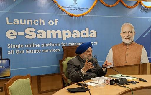 Union Minister Hardeep Singh Puri launches E-Sampada web portal_40.1