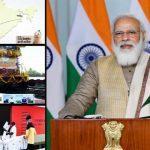 Prime Minister Narendra Modi flags off 100th 'Kisan Rail'