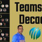 MS Dhoni named captain of ICC Men's ODI and T20I Teams of the Decade