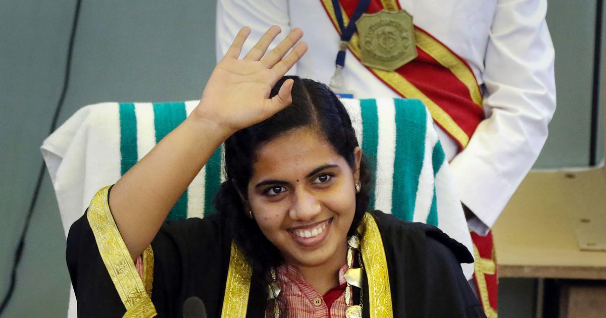 Kerala's Arya Rajendran becomes India's youngest mayor from Thiruvananthapuram_40.1