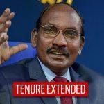 ISRO Chairman K Sivan gets one year extension up to 2022
