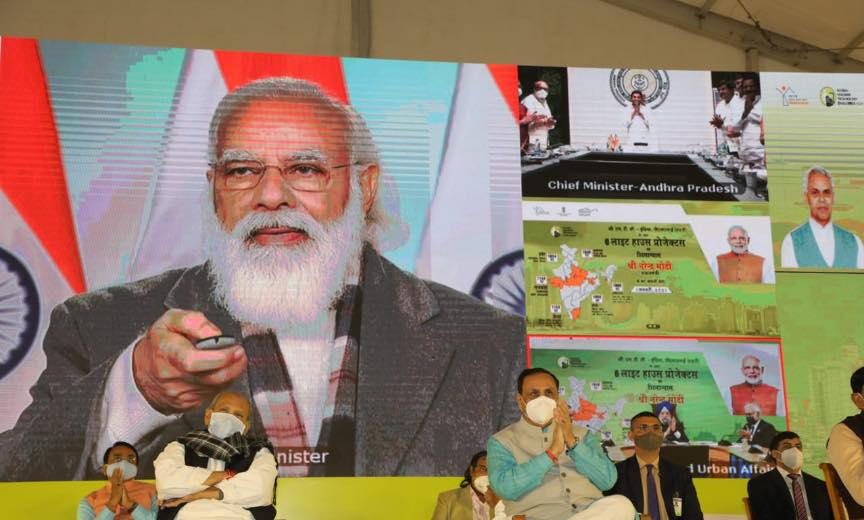 PM Modi lays foundation stone of Light House projects (LHPs)_40.1