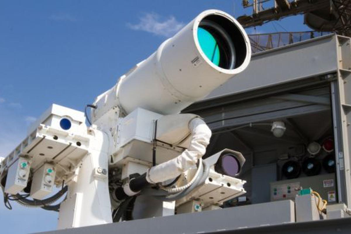 BEL and Indian Navy inks pact for initial supply of Laser Dazzlers_40.1