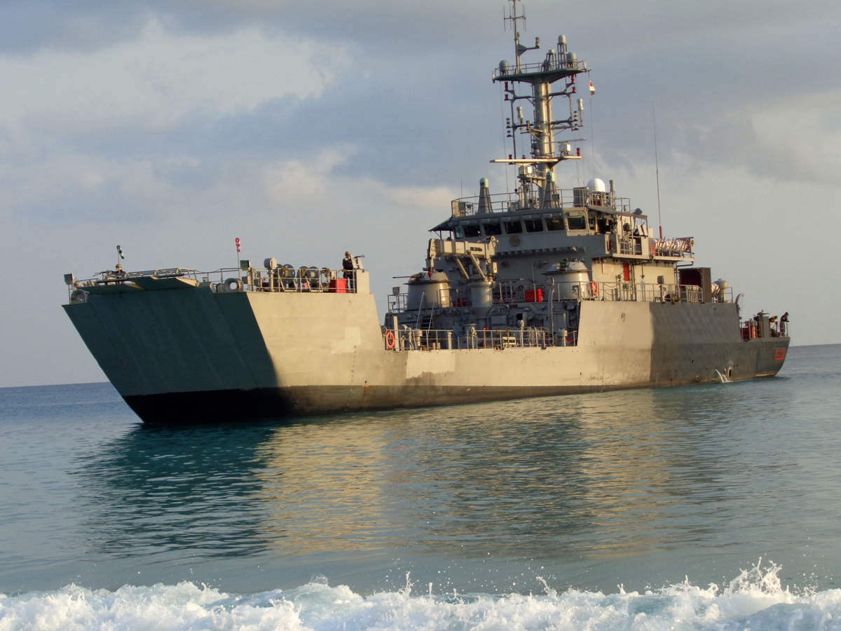 GRSE delivers 8th landing craft utility ship to Indian Navy_40.1