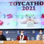 Ramesh Pokhriyal launched Toycathon-2021 to promote manufacturing of toys