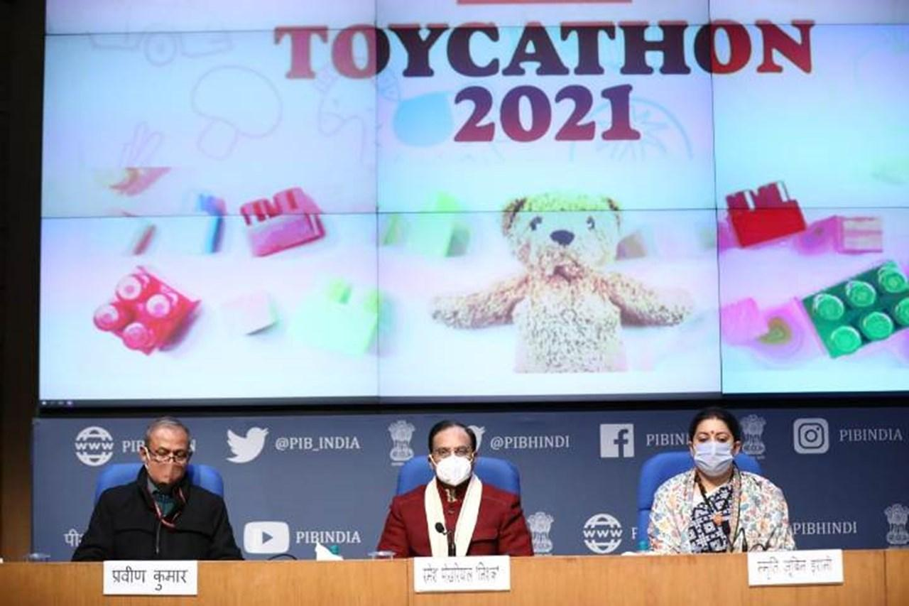 Ramesh Pokhriyal launched Toycathon-2021 to promote manufacturing of toys_40.1