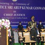 Arup Kumar Goswami sworn in as CJ of Andhra Pradesh High Court