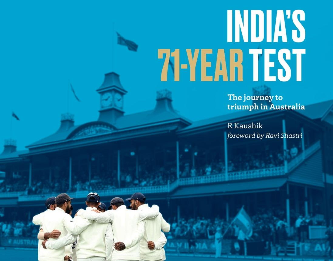 A book on India's tours Down Under by R. Kaushik_40.1