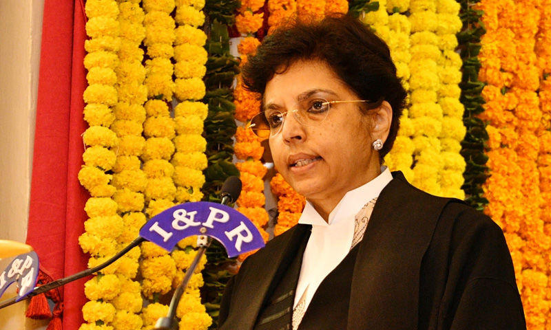 Hima Kohli appointed as 1st Woman Chief Justice of Telangana High Court_40.1