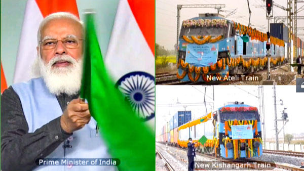 PM Modi dedicates new Section of Western Dedicated Freight Corridor_40.1