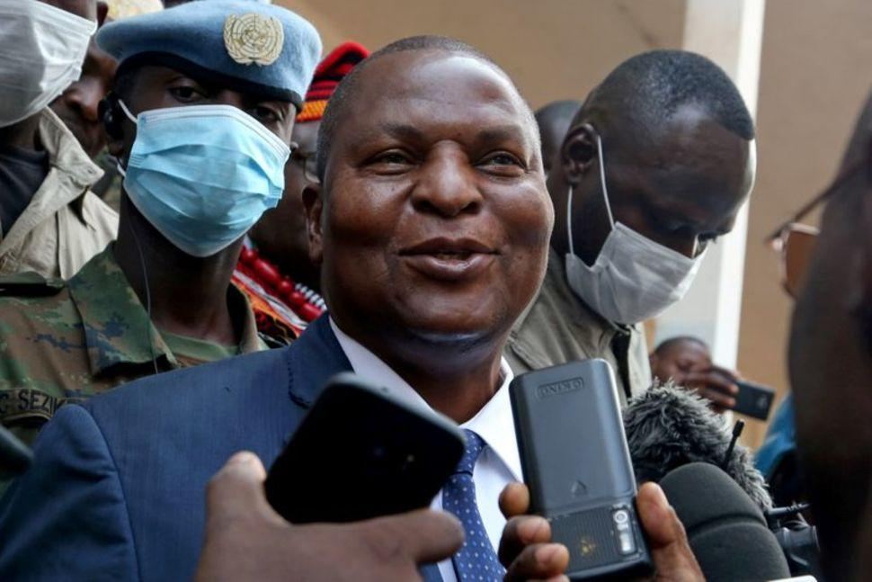 Central African Republic president Touadera wins reelection_40.1