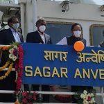 Harsh Vardhan launches Coastal Research Vessel Sagar Anveshika