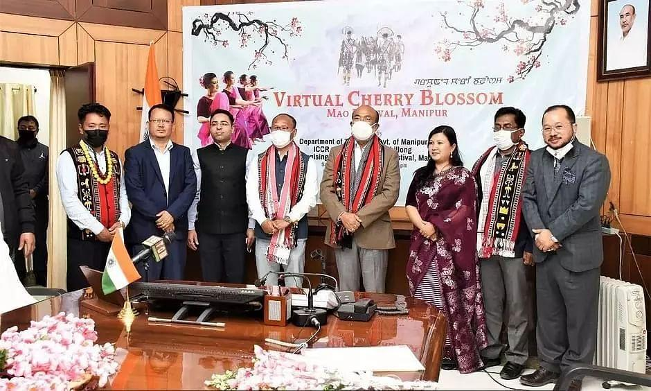 Manipur: CM Biren Singh virtually inaugurated Cherry Blossom Festival_40.1