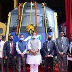 Rajnath Singh unveils India's 1st indigenously developed driverless metro car