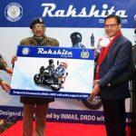 DRDO hands over Motor Bike Ambulance Rakshita to CRPF
