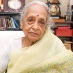 Padma Award winning Renowned Oncologist Dr V Shanta passes away